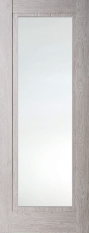 Internal Smokey Grey Mexicano Full Light Door
