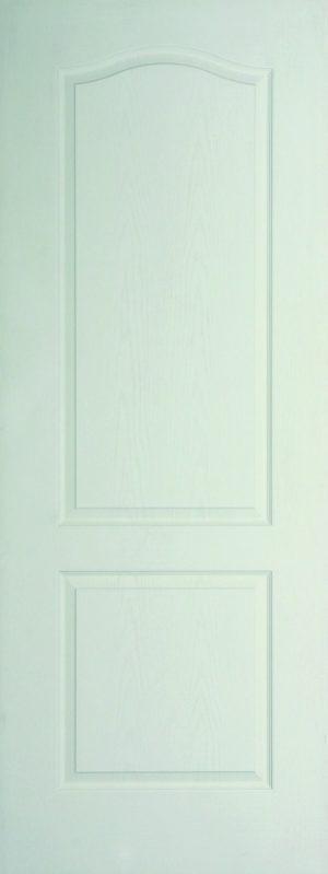 Internal White Moulded Woodgrain Classique FD60 Fire Door Primed